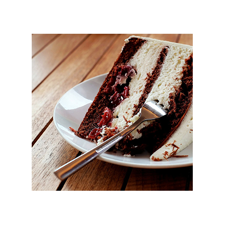 A black forest gateau Image