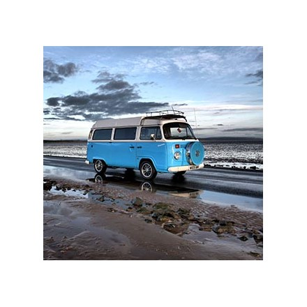 One day's hire of VW campervan Image