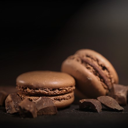 A Chocolate Macaroon Making Lesson Image
