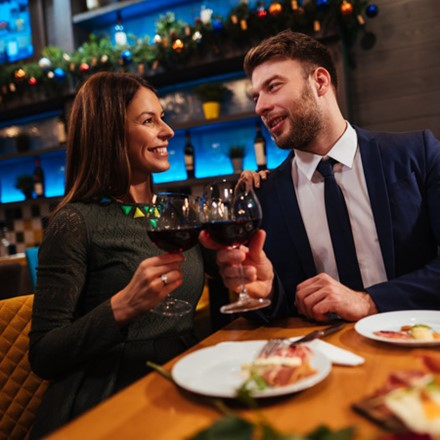 Dinner for two at the Radisson Blu Waterfront Hotel Image