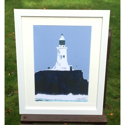 "A ""Jersey Icon"" Corbiere Canvas Image"