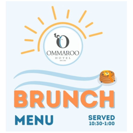 An Ommaroo Celebratory Brunch for 4 Image